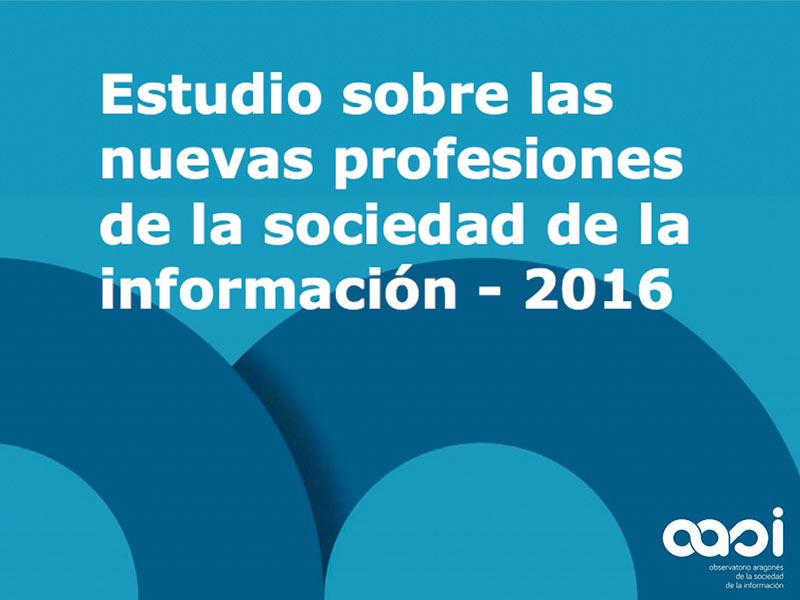 Un estudio del OASI detecta 40 nuevas profesiones en el sector de la Sociedad de la Información y las nuevas tecnologías