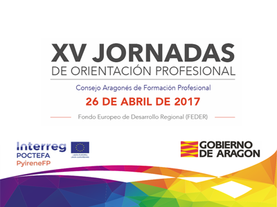 Retransmisión en directo desde la Residencia Pignatelli de las XV Jornadas de Orientación Profesional organizadas por el Consejo Aragonés de Orientación Profesional.