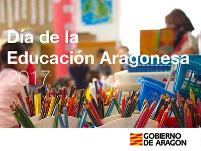 El viernes 9 de junio la DGA organizará como todos los años el acto de celebración del Día de la Educación Aragonesa.
