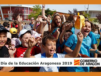 Celebración del Día de la Educación Aragonesa 2019 La consejera de Educación, Cultura y Deporte, Mayte Pérez, preside los actos del Día de la Educación Aragonesa, que se celebra a las 12.00 en la Sala de la Corona del Edificio Pignatelli.